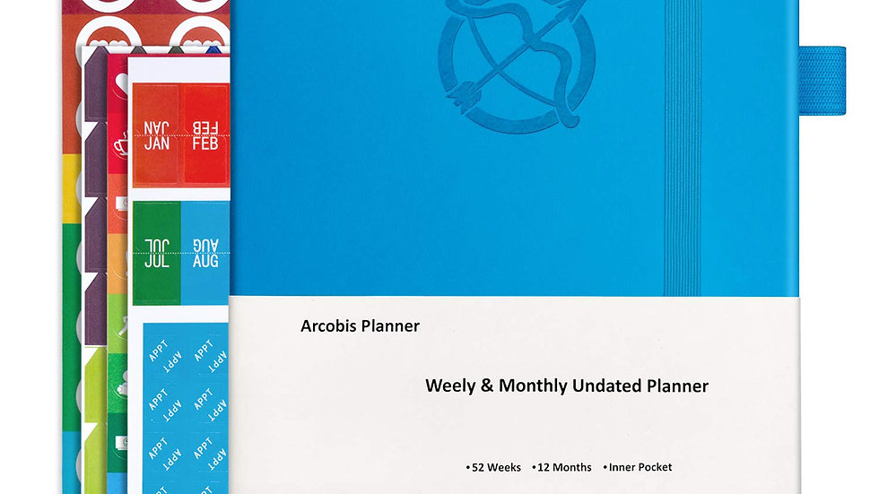612677941724 Undated Weekly Planner