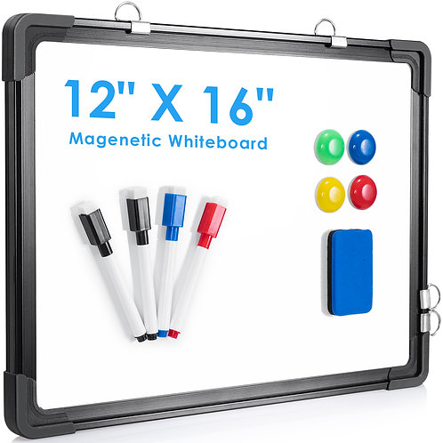 """Dry erase whiteboard for wall 12""""x16"""""""