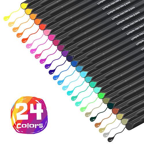 612677941823 Fineliner Color Pens (24 pack)