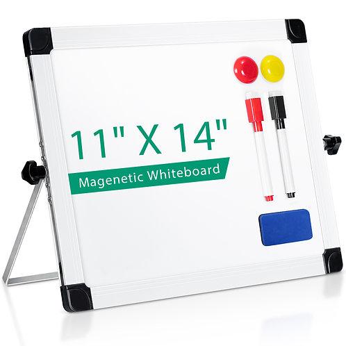 "Desktop dry erase board 11"" x 14"""
