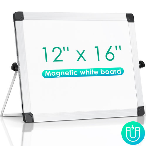 "Desktop dry erase board 12"" x 16"""