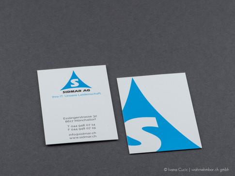 Visitenkarte für SIDMAR AG