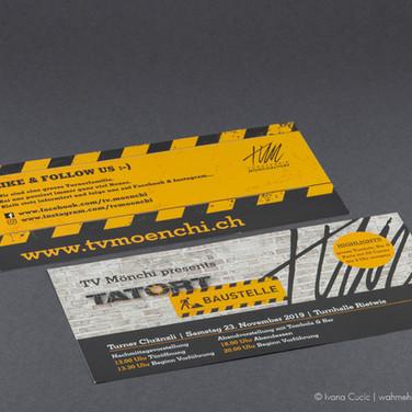 DinLang-Flyer (Vorne & Hinten)