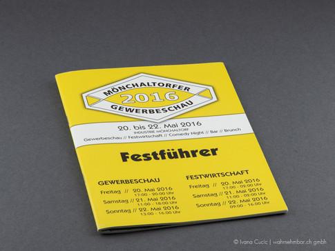 Festführer Gewerbeschau (vorne)