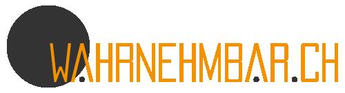 wahrnehmbar.ch Logo - Fotograf & Grafikdesigner