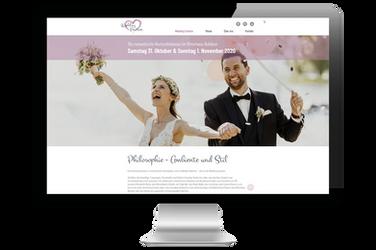 """Website für """"Wedding Emotion"""""""