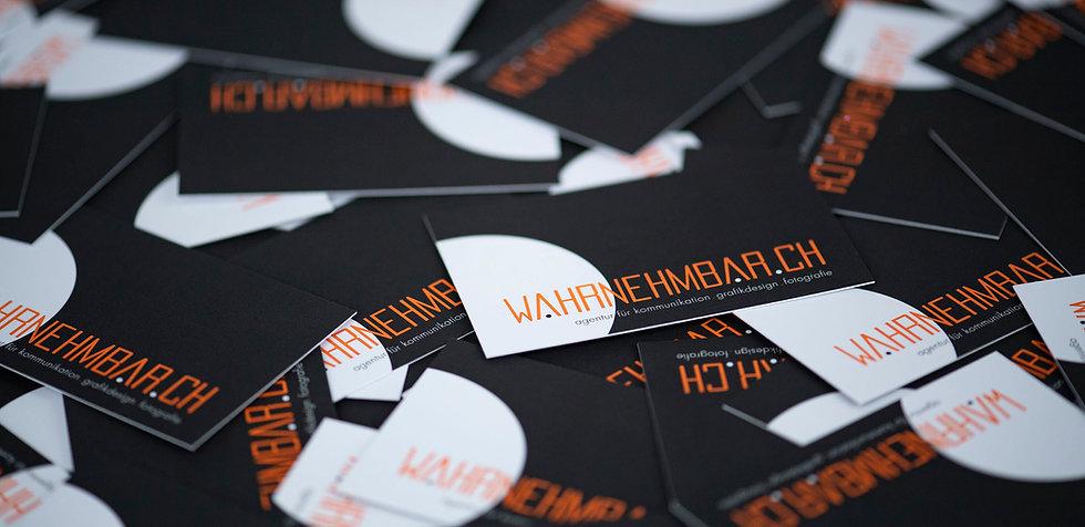 wahrnehmbar.ch, Werbeagentur, Grafiker, Fotograf