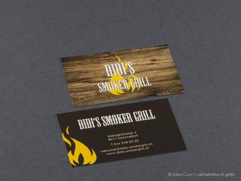 Visitenkarte für Didi's Smoker Grill