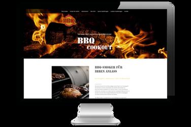 """Website für """"BBQ-Cookout"""""""