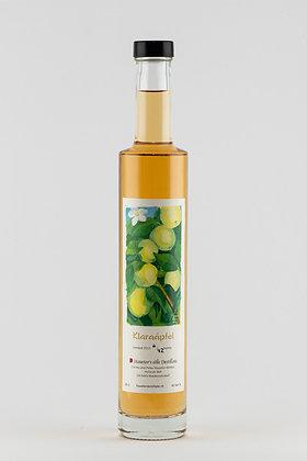 Destillat aus Klara-Äpfeln vom Holzfass