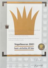 2001 | Goldene Vignette für Vogelbeeren