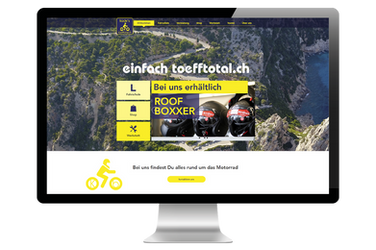 """Website für """"Küde's toefftotal.ch"""""""