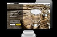 """Website für """"Haueters edle Destillate"""""""