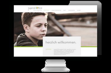 """Website für """"Jugend-Office"""""""