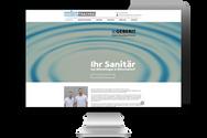 """Website für """"Sanitär Trachsel"""""""