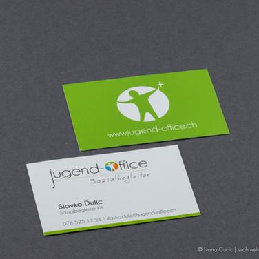 Visitenkarte für Jugend-Office