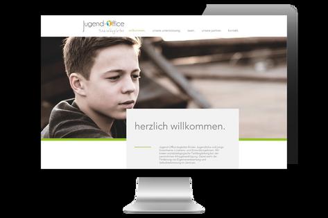 Webdesign für Jugend-Office