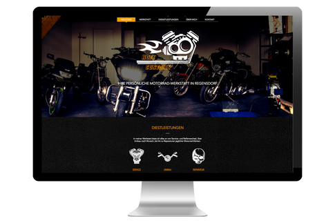 Webdesign für Hofi Customs
