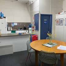 Kitchenette for stage Room