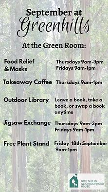 Greenroom activities Greensborough