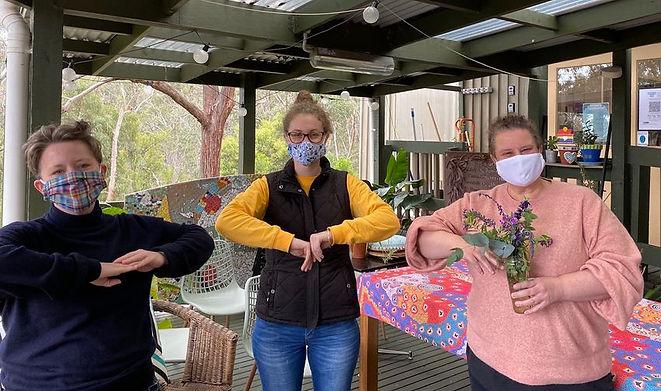 ellie, sarah and janelle masks.jpg