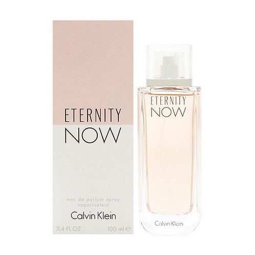 CALVIN KLEIN ETERNITY NOW  DAMA EDP SPRAY 100ML/3.3OZ RRBX XRRX