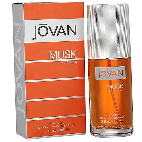 JOVAN MUSK  CABALLERO EDC SPRAY 88ML/3OZ MEX CRCA