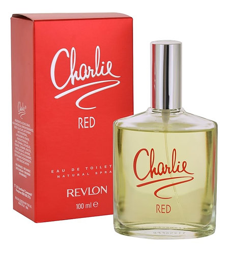 REVLON CHARLIE RED  DAMA EDT SPRAY 100ML/3.4OZ EIX XRRX