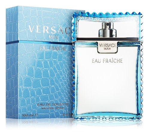 Versace EAU FRAICHE MAN para Caballero EDT Spray 100ml/3.4oz