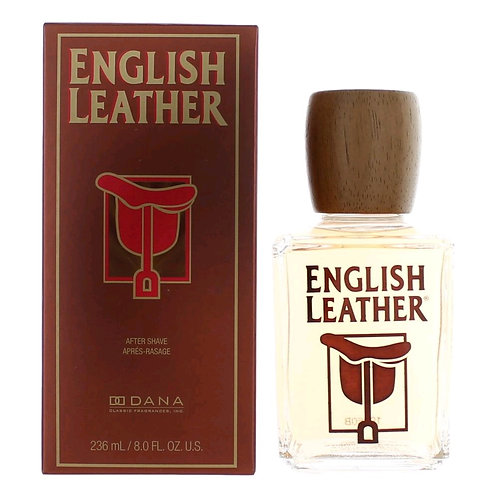 ENGLISH LEATHER AFTER SHAVE  CABALLERO  DESPUÉS DE AFEITAR 236ML/8OZ CIIX XRRX