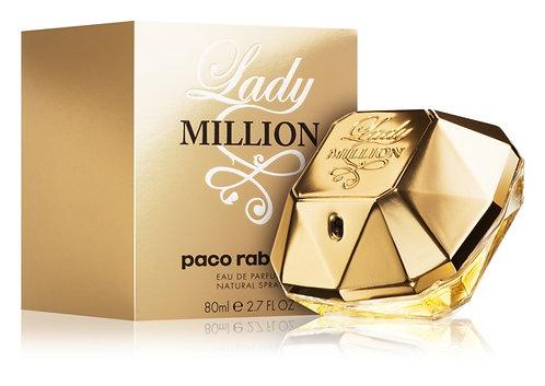 PACO RABANNE LADY MILLION EDP SPRAY 80ML/2.7OZ MZRX XRRX