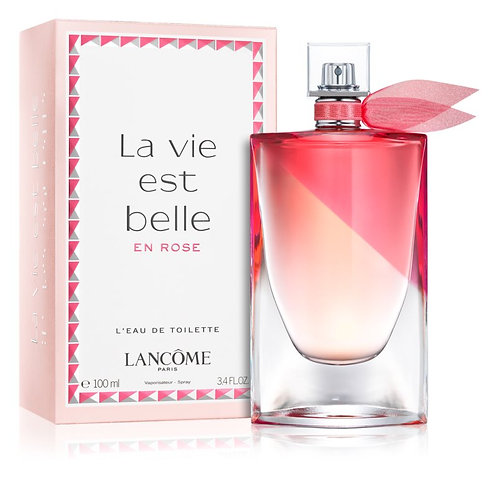 LANCOME LA VIE EST BELLE EN ROSE  DAMA EDT SPRAY 100ML/3.4OZ UCAX XARX