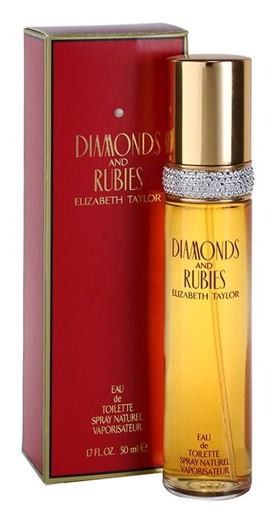 ELIZABETH TAYLOR DIAMONDS & RUBIES EDT 50ML ZIX CCRX