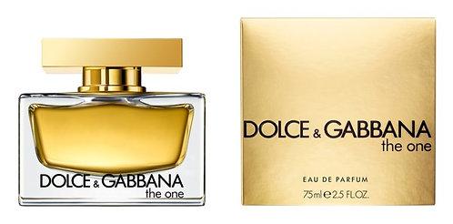 DOLCE & GABBANA THE ONE  DAMA EDP SPRAY 75ML/2.5OZ ICCX XICA