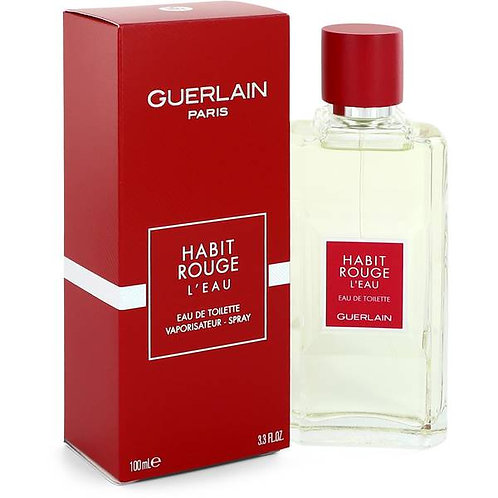 GUERLAIN HABIT ROUGE  CABALLERO EDT SPRAY 100ML/3.30Z EXEX CXCB