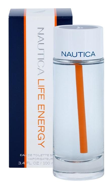 NAUTICA LIFE ENERGY CABALLERO 100 ML BBX CXRX