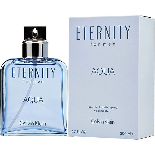 CALVIN KLEIN ETERNITY AQUA FOR MEN EDT 200ML RUAX XCRC