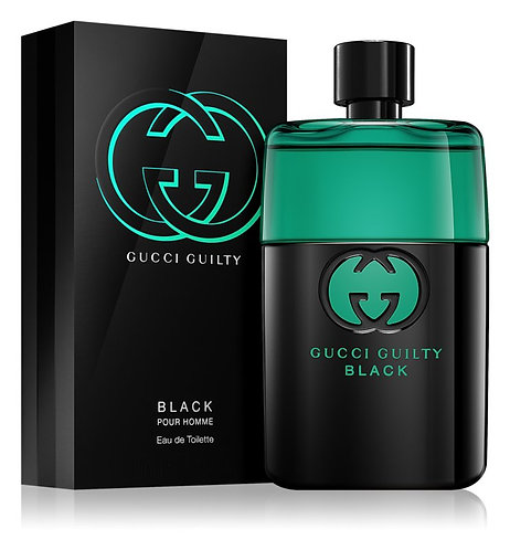 GUCCI GUILTY BLACK  CABALLERO EDT SPRAY 90ML/3OZ MAZX CRCA