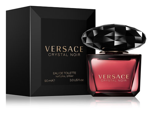 Versace CRYSTAL NOIR para Dama EDT Spray 90ml/3oz