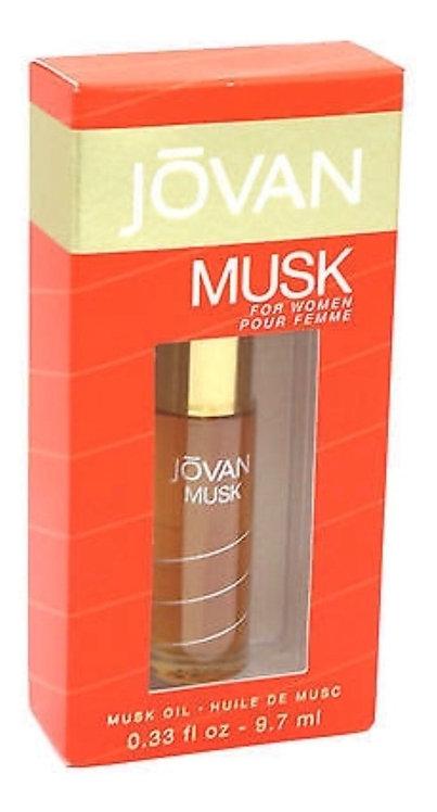 JOVAN MUSK OIL  DAMA ACEITE SPRAY 9.7ML/0.33OZ ZBX CRCA