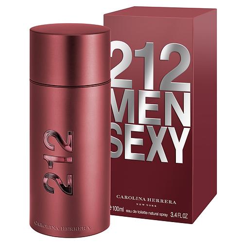 CAROLINA HERRERA 212 MEN SEXY EDT 100ML MZMX CXRX