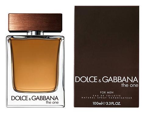 DOLCE & GABBANA THE ONE  CABALLERO EDT SPRAY 100ML/3.3OZ EZCX XRRX