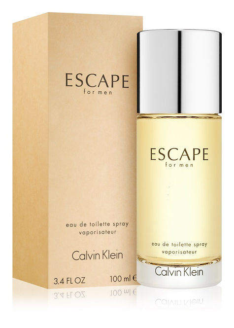 CALVIN KLEIN ESCAPE  CABALLERO EDT SPRAY 100ML/3.4OZ CIZX XICA