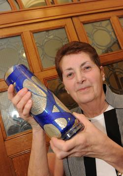 Duncan Edwards award winner - Rita Vanes