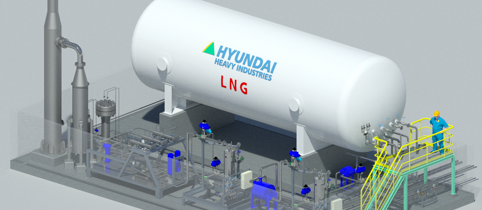 E&CO awarded E.P.C. contract with Hyundai Heavy Industries for ME-GI Test Bed