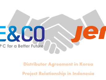 Distribution agreement signed between E&CO and JEREH.