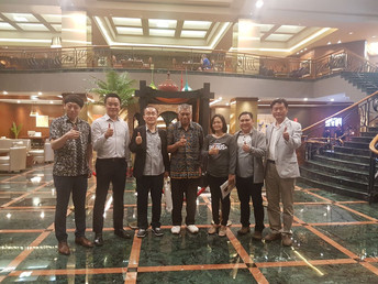 Conference meeting for Kaltara Power Plant Project
