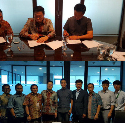 E&CO has Signed MOU on Indonesia EPC Project with PT. IBRIS Group(Jakarta,Indonesia)
