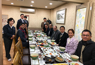 E&CO meets with former indonesian President Megawati and her family (Mokpo, Korea)