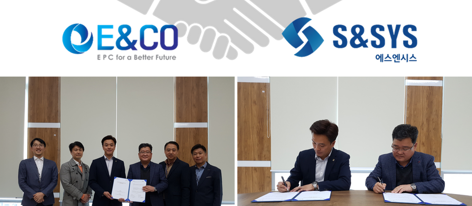 Business Cooperation Agreement (BCA) between E&CO and S&SYS
